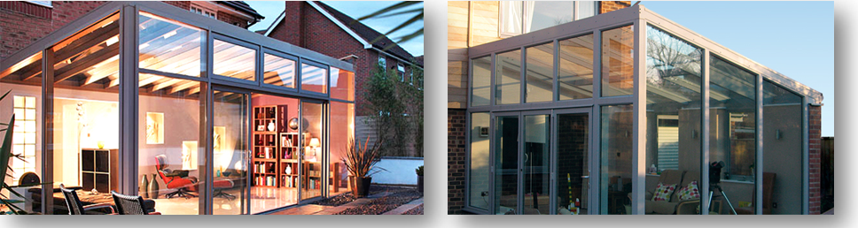 2 Bespoke Lean to Conservatory designs
