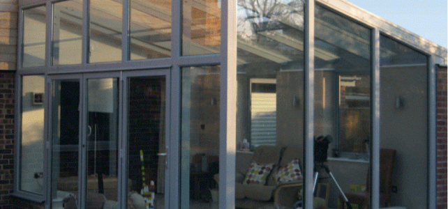 Grey Lean to Conservatory
