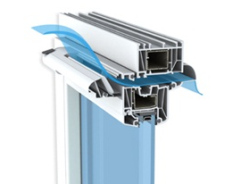 casement windows trickle vent